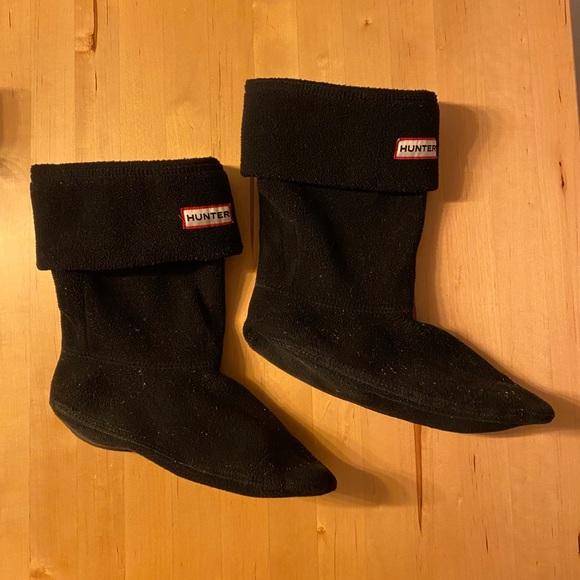 Hunter polar fleece tall boot socks or liners